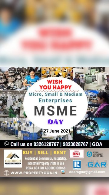 World MSME Day 21 June 2021.Salute to all Small and Medium Enterprenuers